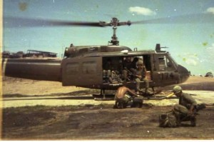 LZ Bronco chopper pad, goin out to the bush.
